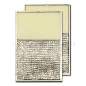 aluminum range hood filter with light lens 11 x 17 x 1 2 lens size 6 3 4 x 11. Black Bedroom Furniture Sets. Home Design Ideas