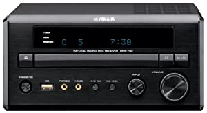 Yamaha DRX-730BL Micro Component Receiver CD/DVD Player Unit (Black)