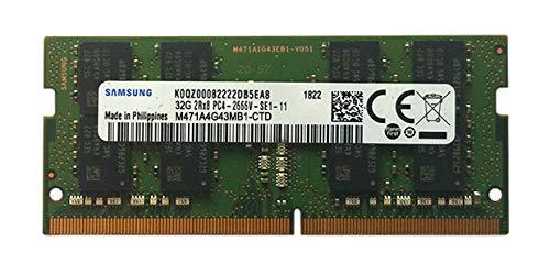 Samsung 32GB DDR4 2666MHz RAM Memory Module for Laptop Computers (260 Pin SODIMM, 1.2V) M471A4G43MB1 (Tamaño: 32 Gb)