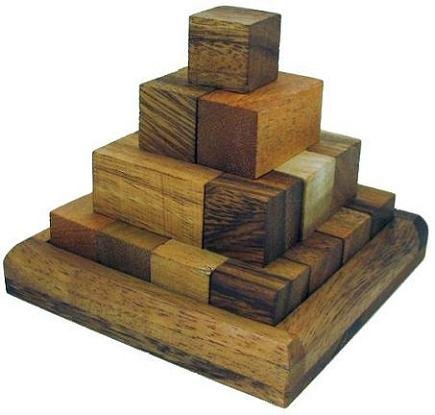 Cheap Winshare and Games Pagoda Pyramid Wooden Puzzle (B005IDO5V4)
