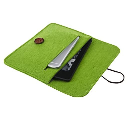 Bear-Motion-for-Kindle-Premium-Felt-Sleeve-Case-for-Kindle-Paperwhite-and-Kindle-Voyage-Green