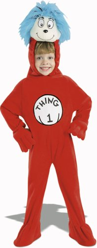 Child's Cat in the Hat Thing 1 Costume Size: Small