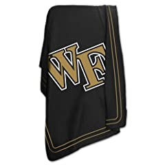 Brand New Wake Forest Demon Deacons NCAA Classic Fleece Blanket by Things for You