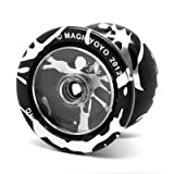 Professional Magic Yoyo N9 Floating Cloud Highspeed Made By Alloy Aluminum Yoyo Match Dedicated Proteintal Toy Entertainment Fun(black and Grey)