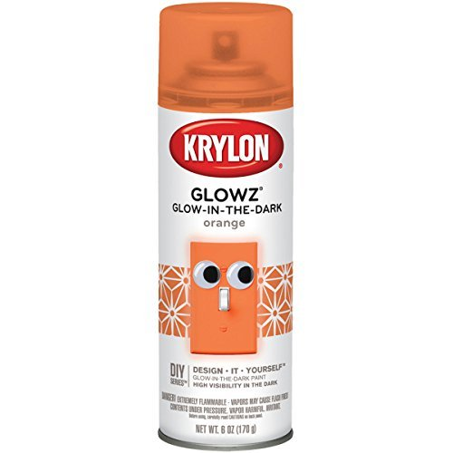 krylon-k03154000-glowz-spray-paint-orange-by-krylon