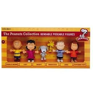 Peanuts Bendable Box Set (24 Pieces)