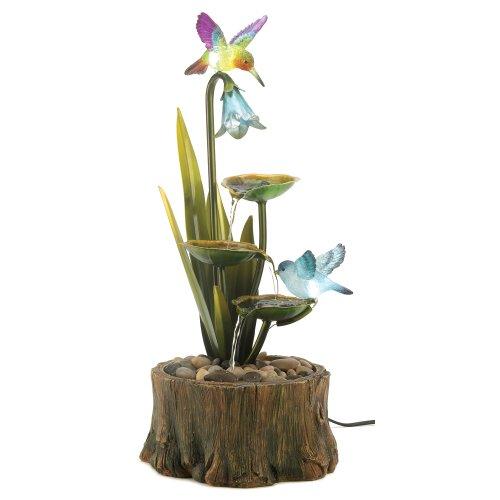 Awardpedia hummingbird haven home garden decor water for Hummingbird decor