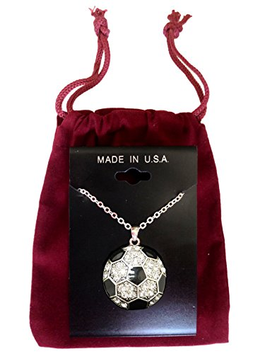 Soccer-Ball-Crystal-Necklace