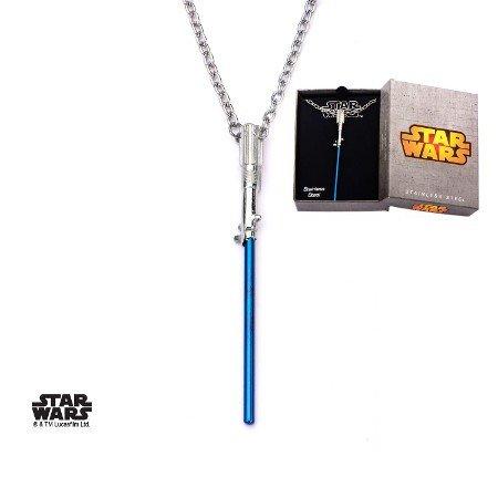 STAR WARS Lightsaber collana con pendente