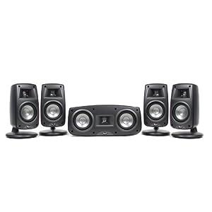 Klipsch Synergy Quintet III Home Theater Speaker System (Set of Five, Black)