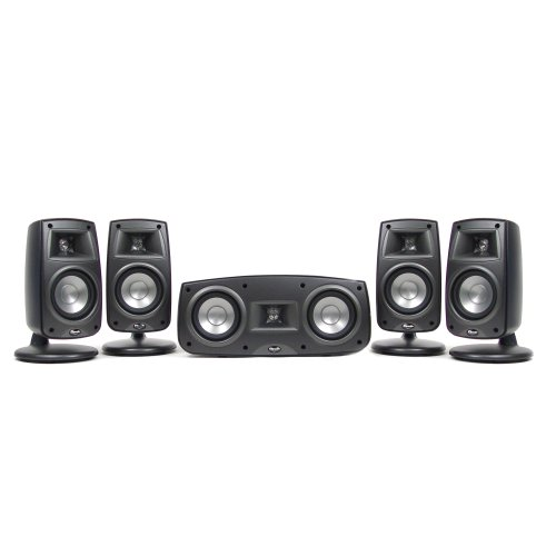 Klipsch Synergy Quintet III Home Theater Speaker System (Set of Five, Black)