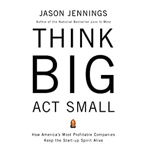Think Big, Act Small Hörbuch