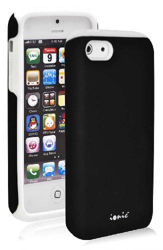 Ionic Bella Apple Iphone 5C Case (At&T, T-Mobile, Sprint, Verizon) (Black/White)