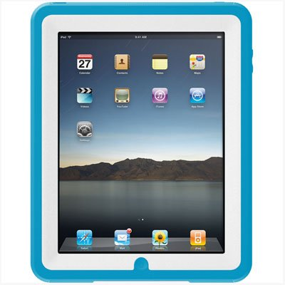 Otterbox iPad Defender Case - White and Blue