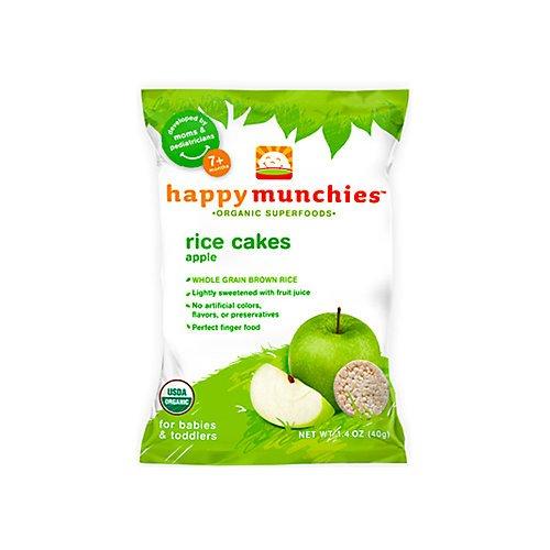 Happy Baby Happy Munchies Rice Cakes Apple