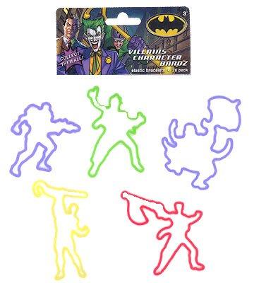 Batman & Villains Logo Bandz Bracelets at Gotham City Store