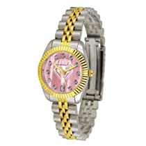"New Mexico Lobos NCAA Mother of Pearl ""Executive"" Ladies Watch"