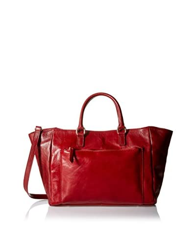 Letizia Women's Jessica Large Tote, Red