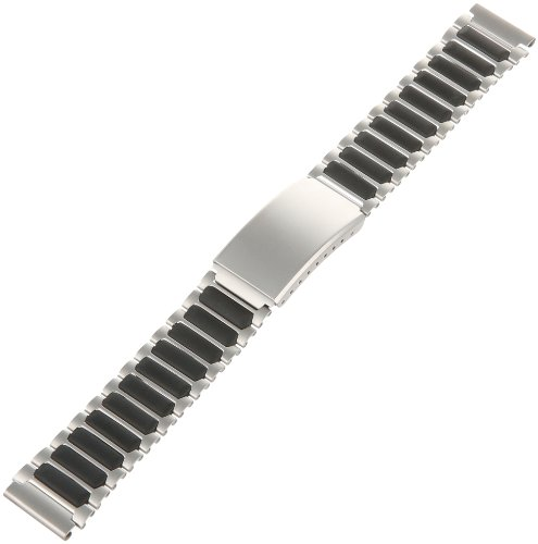 Timex Men's Q7B848 Ironman Triathlon Stainless Steel 18mm Replacement Watchband