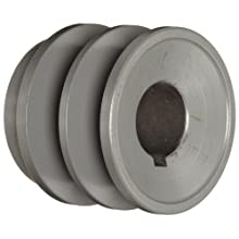 "TB Woods 2BK251 FHP Bored-To-Size, 2.65"" Outside Body Diameter, 1"" Bore Diameter V-Belt Sheave"