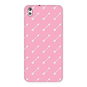 Impressive Pink And Arrow Multicolor Back Case Cover for HTC Desire 816g