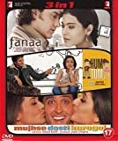 Fanaa / Hum Tum / Mujhse Dosti Karoge! (3 in 1 DVD Without Subtittle)