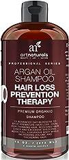 Art Naturals Organic Argan Oil Hair Loss Prevention Shampoo 16 Oz – Sulfate Free -Best Treatment for…