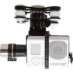 DJI Zenmuse H3-3D 3-Axis Gimbal for GoPro Hero3 GoPro Hero3+ Camera, -130 - +45deg. Controlled Rotation Range, ±130deg./s Rotation Speed (Phantom 2 version)