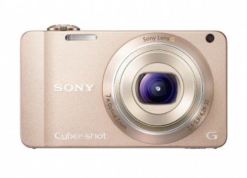 Sony DSCWX10 Cyber-shot Digital Still Camera - Gold (16.2MP, 7x Optical Zoom) 2.8 inch LCD