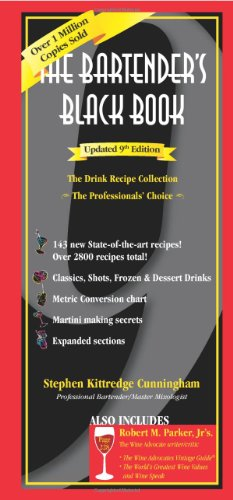 The Bartenders Black Book, Updated 9th Edition