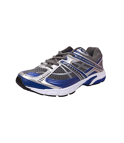 Sole Strings Mens Grey Synthetic Sports Shoes - 6 Uk
