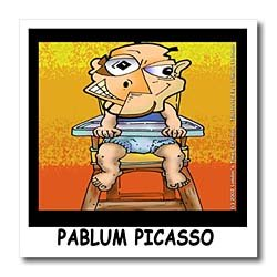 PABLO PICASSO - 8x8 Iron On Heat Transfer For White Material