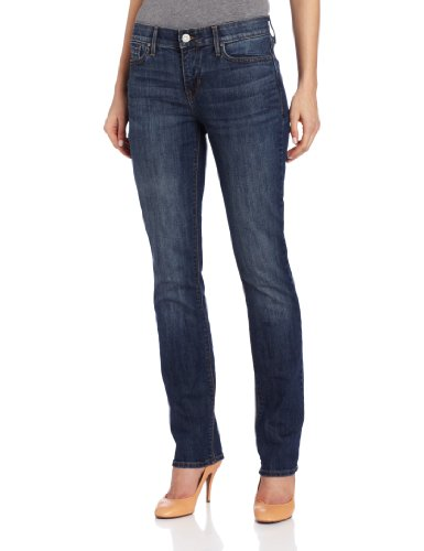 Levi's Women's 525 Straight Leg Perfect Waist Jean, Sapphire, 10 Medium