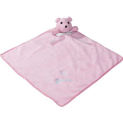 Zanies Polyester And Fleece Snuggle Bear Puppy Blanket, 15-Inch, Princess Pink