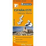 Carte Espagne Est Michelin