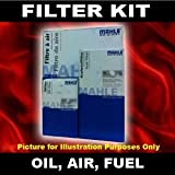 Filter Service Kit Oil,Air,Fuel - Mazda 121 Mk3 1.25 96->on