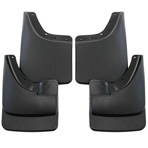 2002-2008 Dodge Ram Mud Flaps Mud Guards Splash No Flares Front Rear Molded 4pc (Mud Guards For Dodge Ram 2500 compare prices)