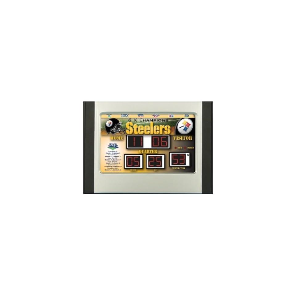 Steelers Scoreboard Alarm Clock