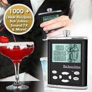 New Excalibur Bar Master Deluxe - Talking Drink Maker front-482678