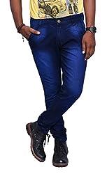 Jugend Skinny fit Blue Stretchable jeans for men