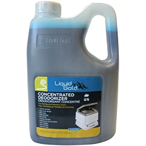 2l Liquid Gold Deodorizer For Porta Potty Portable Toilets