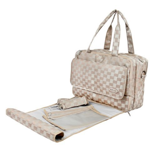 Mabyland Luxury Maxi Elite Changing Bag Set (Gold) by MaByLand