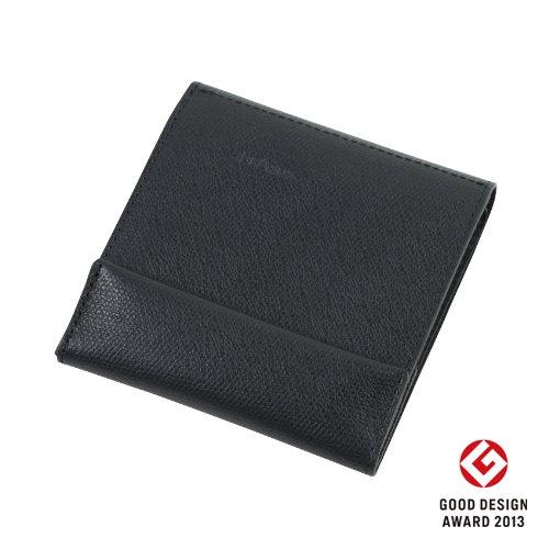 薄い財布 abrAsus(アブラサス)ブラック