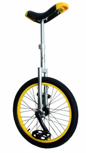 UNO Alloy Unicycle (Yellow, 20-Inch)