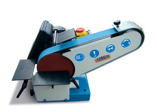 """Baileigh DBG-62 Combination Belt and Disk Grinder, 110V, 1hp Motor, 6"""" Disk Diameter, 40"""" Belt Length, 2"""" Belt Width"""