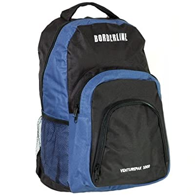 Ultra Lightweight Cabin Approved Backpack (Black/Blue) from Karabar