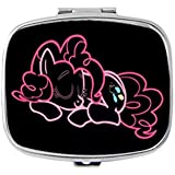 Neon Pinkie Pie Sleeping My Little Pony Unique Custom Design Pill Box Medicine Tablet Organizer Dispenser Case