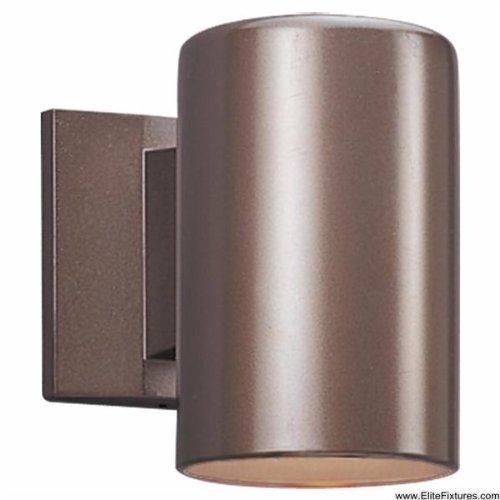 Sea Gull Lighting 8938DPBLE-10 Single-Light Dark Sky Outdoor Lantern, Bronze