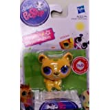 Littlest Pet Shop Single Figure Yellow Bear