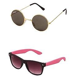 Benour BENCOM002 Combo Unisex Sunglasses